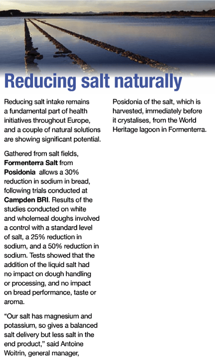 Reducing salt naturally