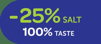 8% de sodium